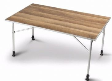 Kampa Dometic Zero Light Oak Large Camping Table